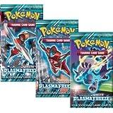 Pokemon Plasma Freeze Sealed Booster Packs - Lot of 3 -
