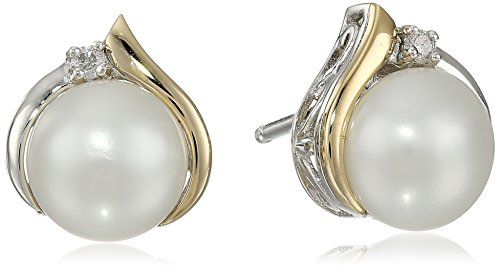 sterling-silver-and-14k-yellow-gold-diamond-accent-freshwater-cultured-pearl-stud-earrings-7mm