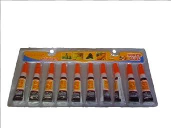 ProGlue Super Glue Cement Construction Tool (Pack of 10)