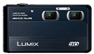 Panasonic Lumix DMC-3D1 3D Still and Video Camera with 3.5-Inch Touch Screen and 5X Zoom Lens - DMC-3D1K from Panasonic