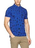 Trussardi Jeans Polo (Azul Royal)