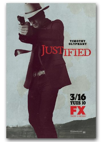 Justified Poster – Promo Flyer – 11 x 17 TV Show Timothy Olyphant
