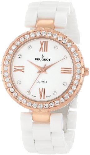 Peugeot Women's White Ceramic 14