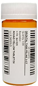 Drontal Tabs for Feline - 3 count