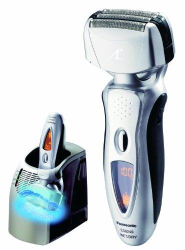 Panasonic ES8249S Arc IV Nanotech Vortex Wet/Dry Rechargeable Shaver, Silver