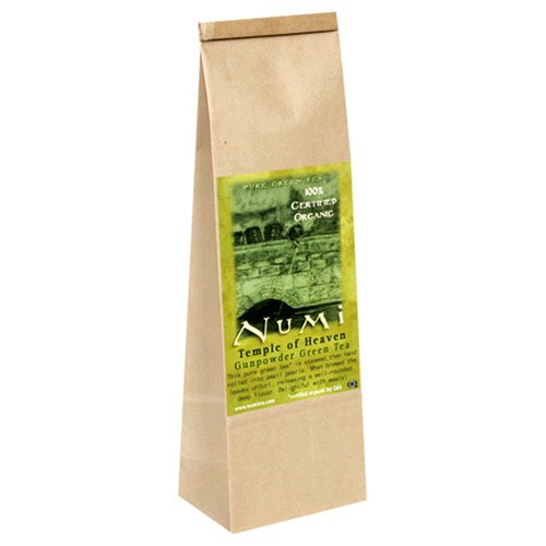 Buy Numi Tea Temple of Heaven, Gunpowder Green Tea, Loose Leaf, 16-Ounce Bags (Pack of 2) (Numi, Health & Personal Care, Products, Food & Snacks, Beverages, Tea, Green Teas)