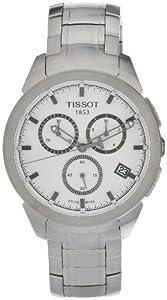 Tissot Mens Titanium Chronograph Silver-tone Watch T0694174403100