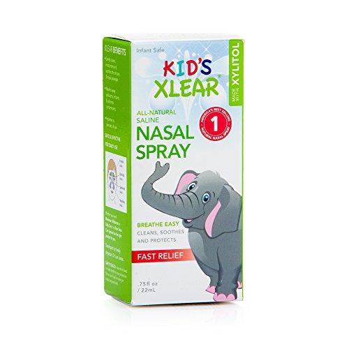 Xlear Kid's Sinus Care Nasal Spray, .75 Fl Oz (Kids Nasal Spray compare prices)