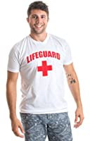 LIFEGUARD | White, Fitted Lifeguarding Unisex T-shirt