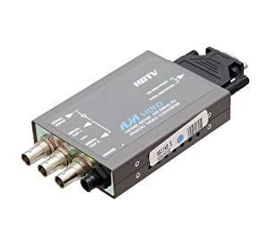 AJA HD10C HDTV Serial Digital to Component Converter w/ HD-10-C Power Supply