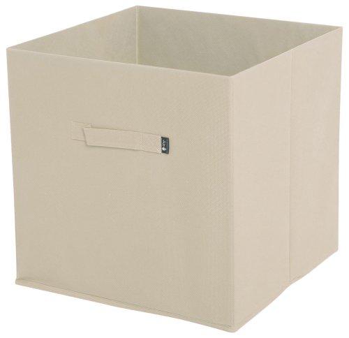 JoJo Maman Bebe Fabric Storage Cube, Natural - 1