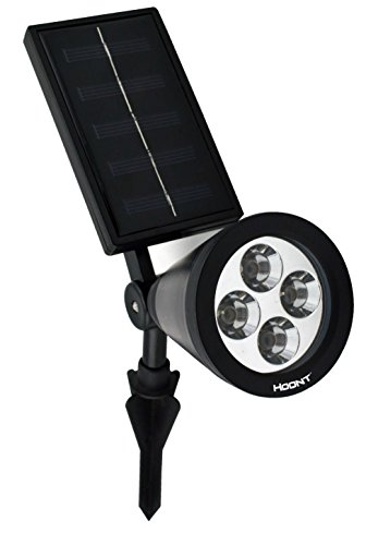 The Hoont™ Bright Outdoor LED Solar Spotlight
