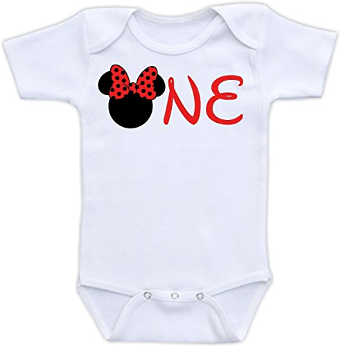 Minnie Mouse One - 12 Months Bodysuit