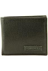 Wenger Monch Genuine Leather Bifold Billfold Mens Wallet