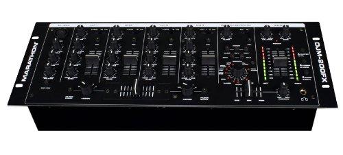 buy cheap marathon djm 200fx 4 channel 19 inch mixer vocal effects 5 line inputs 3 phono 5. Black Bedroom Furniture Sets. Home Design Ideas
