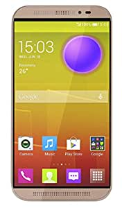 M Horse Model Mendela 5 1.3 GHZ Quad Core High Performance 3G Dual SIM Smart Phone Gold Colour