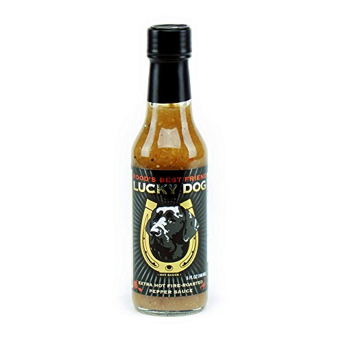 Lucky Dog Extra Hot Fire-roasted Pepper Sauce (Black Label) 5 Fl Oz (Lucky Fish Sauce compare prices)