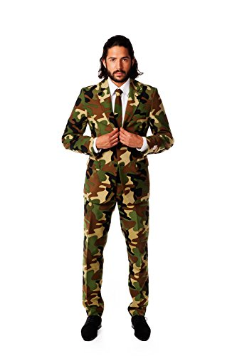 OppoSuits Men's Commando Party Costume Suit