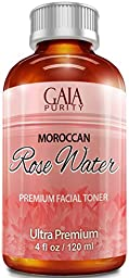 Rose Water, 4oz, Non-Organic - Gaia Purity