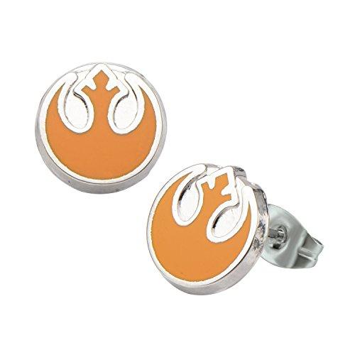 Star Wars Rebel Logo Enamel Stud Earrings