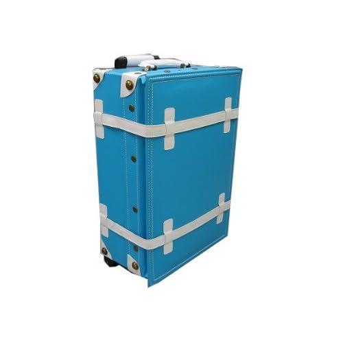 ハナイズム トランクキャリーバッグ - HANA ism -S10 スカイブルー×クールホワイト/キャリーケース・スーツケース