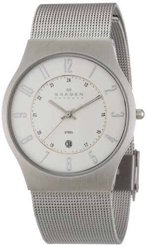 Skagen Gents Slimline Mesh Watch - 233XLSS