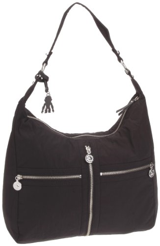 Kipling Women's Hermine Shoulder Bag New Black K24123959