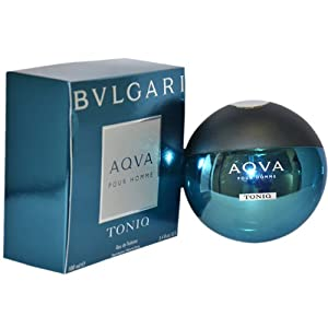 Bvlgari Aqva Toniq Men Eau-De-Toilette Spray by Bvlgari, 3.4 Ounce