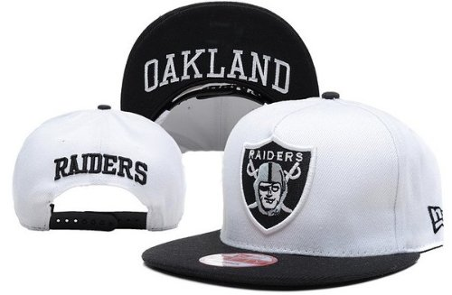NFL Oakland Raiders 9Fifty Snapback Hats 020 (white) at Amazon.com