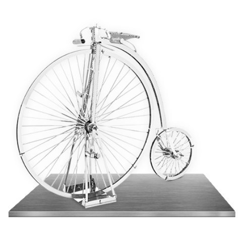 Metal Earth High Wheel Bicycle