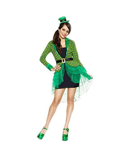 Lucky Lass Womens Leprechaun Irish St. Patricks Day Halloween Costume