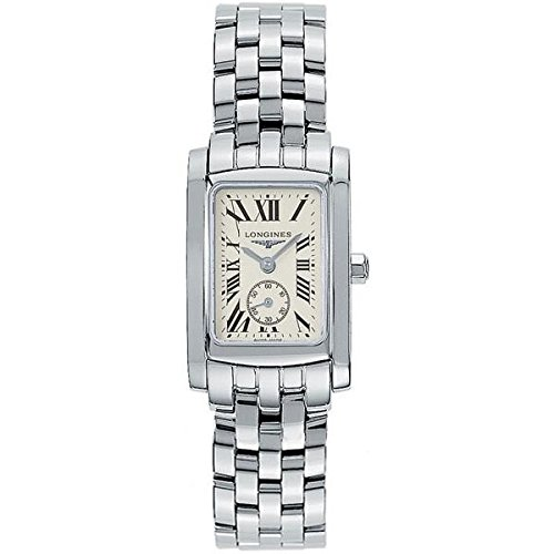 Longines Dolce Vita L51554716 Silver Steel Bracelet & Case Synthetic Sapphire Women's Watch