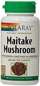 Solaray Maitake Mushroom, 600 mg, 100 Count