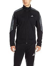 adidas outdoor Men\'s Terrex Swift Fleece Jacket, Medium, Black