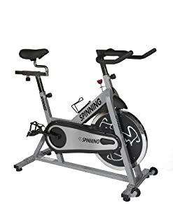 Spinner Fit Indoor Cycle - Spin Bike with Four Spinning DVDs by Mad Dogg Athletics