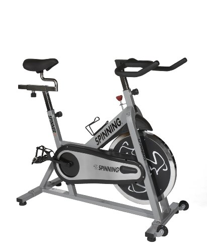 Spinner Fit Indoor Cycle - Spin Bike with Four Spinning DVDs