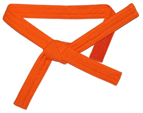 Baby Grappling Orange Belt - For Baby Gi - Fits sizes 80-92
