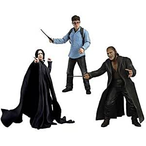 NECA Harry Potter Deathly Hallows 7 Inch Action Figure Severus Snapee