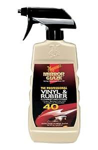 Meguiar's M40 Mirror Glaze Vinyl & Rubber Cleaner & Conditioner - 16 oz.
