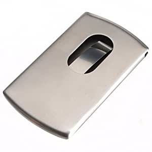Amazon Stainless Steel Name Business Credit Card