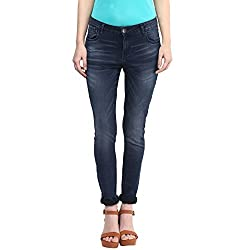 SF Jeans by Pantaloons Women's Slim Fit Jeans (205000005563496_Dark Stone_26)
