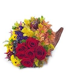 Thanksgiving Cluster - eshopclub Same Day Thanks giving Flower Delivery - Online Thanksgiving Flower - Thanksgiving Flowers Bouquets - Send Thanks giving Flowers