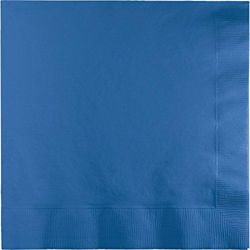Creative Converting Value Pack Paper Beverage Napkins, True Blue, 150-Count