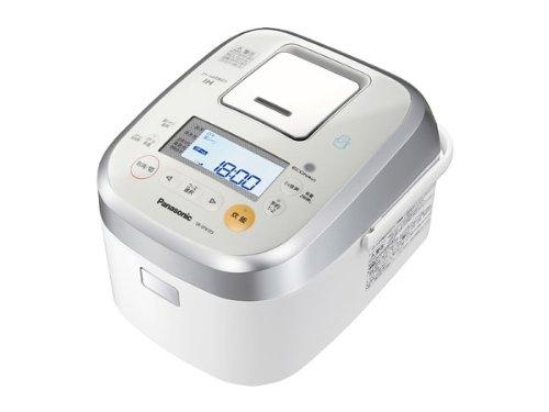 Panasonic Wおどり炊き×エコナビ×スマート スチーム&可変圧力IHジャー炊飯器 1.0L 0.5~5.5合 ホワイト SR-SPX103-W
