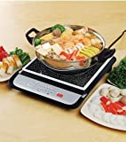 Tatung Induction Cooker with Stainless Steel Pot - 1500 Watts(BLACK)