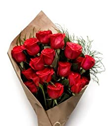 Christmas Romance - eshopclub Same Day Flower Delivery - Online Christmas Flower - ChristmasFlowers - ChristmasFlowers Bouquets - Send Christmas Flowers
