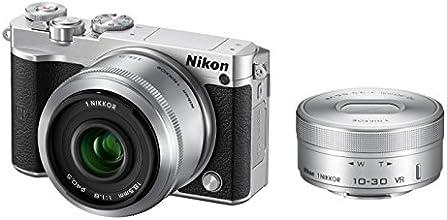 Nikon ミラーレス一眼 Nikon1 J5 ダブルレンズキット シルバー J5WLKSL