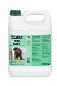 Nikwax Tech Wash Non-Detergent Technical Cleaner - 5lt