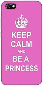 Snoogg Keep Calm Princess Designer Protective Back Case Cover For Huawei Hono...