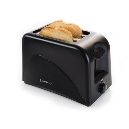 Continental Electric 2 Slice Cool Touch Toaster Discount Sale Best Reviews Continental Electric